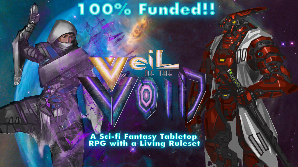 Veil of the Void: A Sci-Fantasy TTRPG project video thumbnail