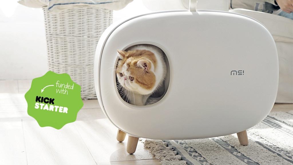 Makesure- Cat Litter Box For Easier Handling Of Cat Litter