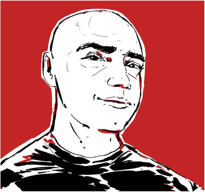 Tasos, our illustrator
