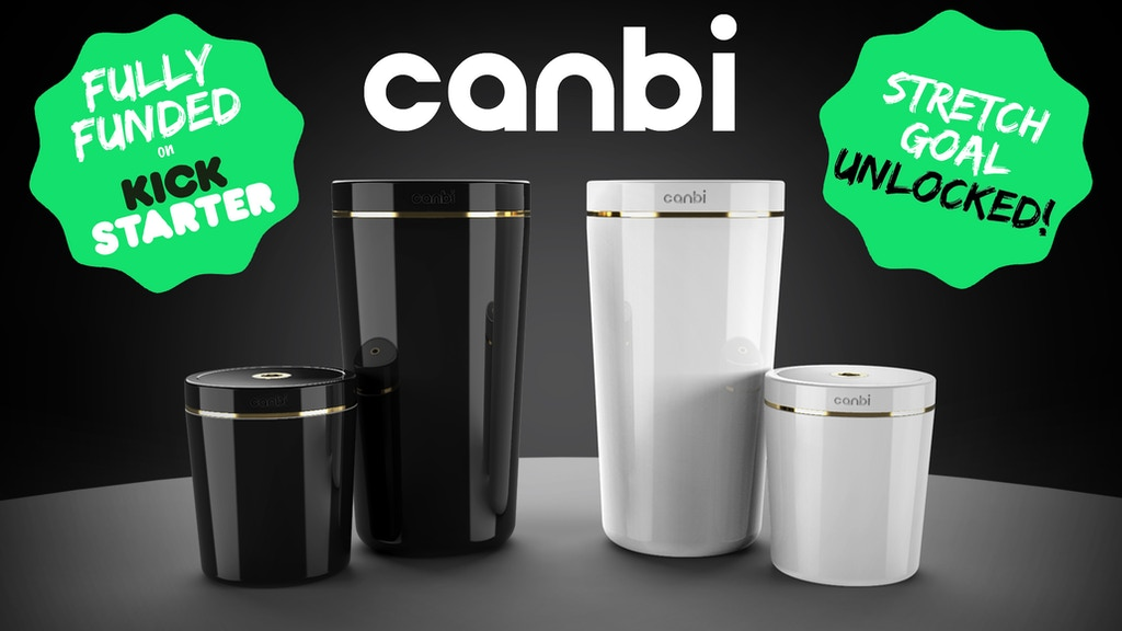 Canbi: The World's Cleanest Garbage Can project video thumbnail