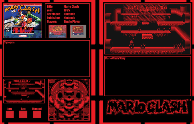 Rough Example, I'm not sure if I like the manual and cartridge there but this is to give you an idea