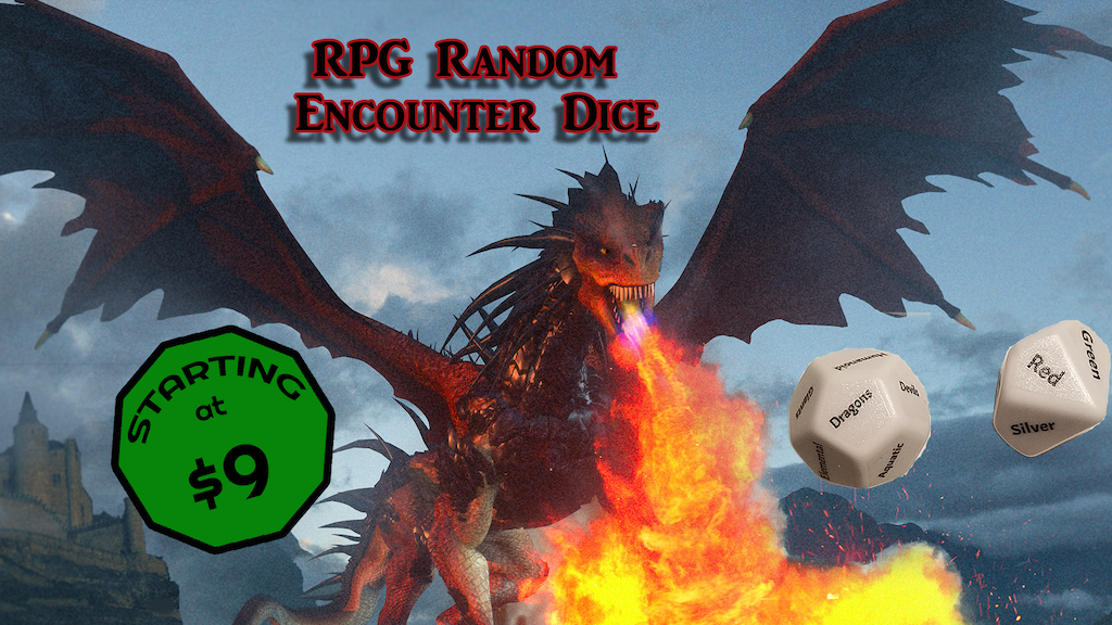 RPG Random Encounter Dice project video thumbnail