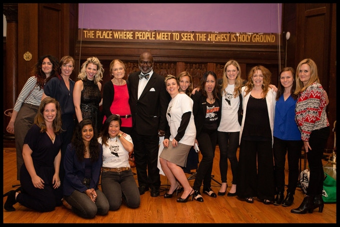 Spare Rib staged reading with: Mozhan Marno, Elizabeth Marvel, Lady Rizo, Gloria Steinem, Dr. Willie Parker, Winter Miller, Adrienne Campbell-Holt, Kate Rigg, Marin Ireland, Deirdre O'Connell, Samantha Bee, Rachel Karpf, Vella Lovell and Diana Oh