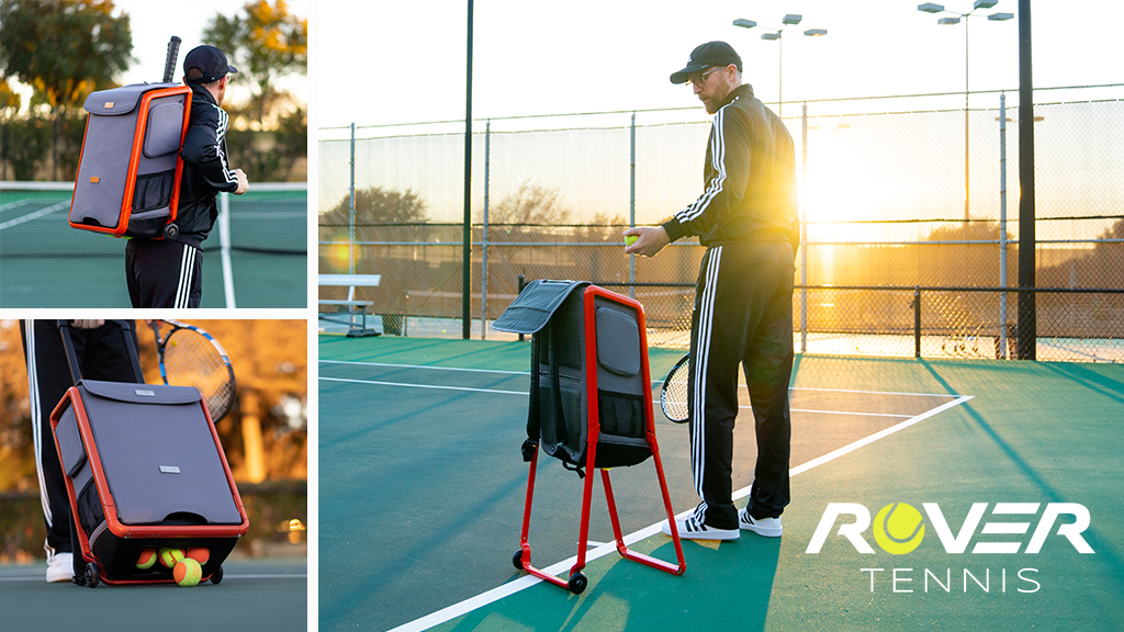 ROVER Packhopper: Backpack + Tennis Ball Hopper All-In-One project video thumbnail