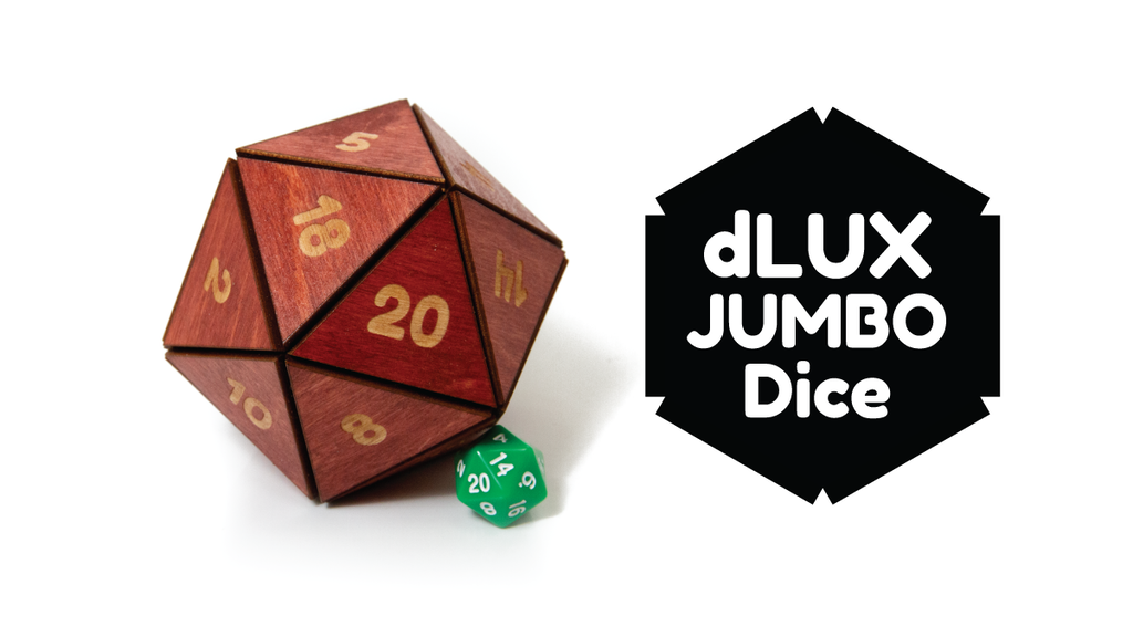 dLUX JUMBO Dice project video thumbnail