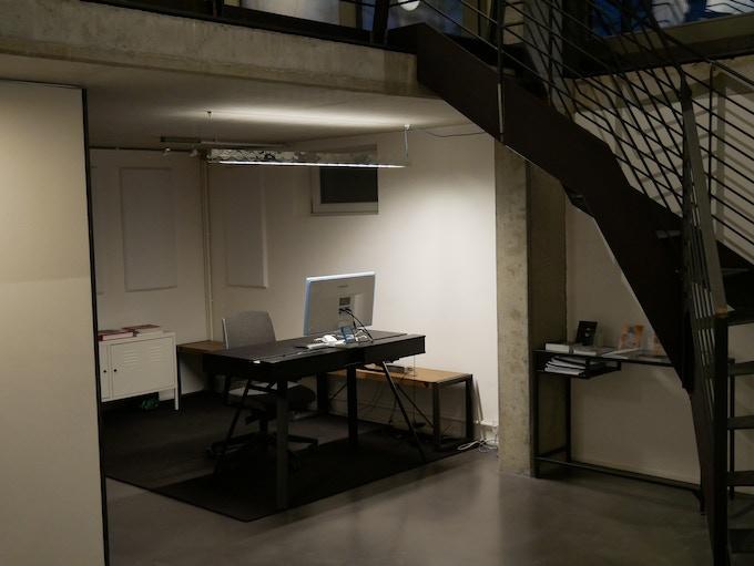 Zickzack studio lighting - application view