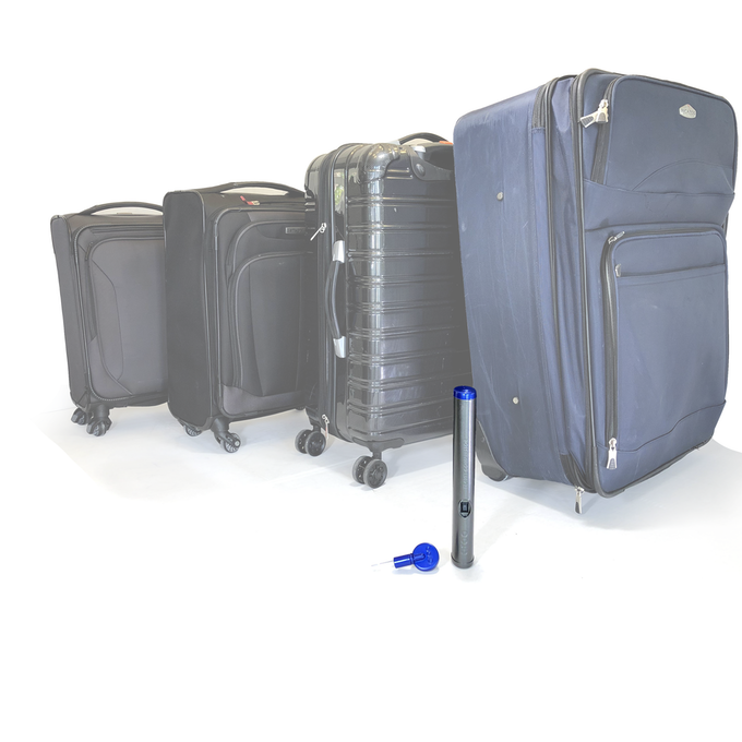 "Which suitcase are you going to take?  Everyone we've asked said, ""...not the huge one"" :("