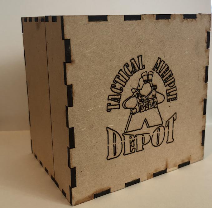 Tactical Meeple Depot Tie Box