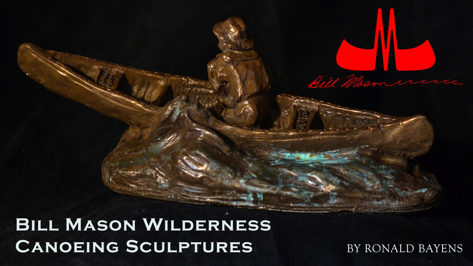 Limited edition, handcrafted bronze sculptures of wilderness canoeing icon, Oscar-nominated filmmaker and author, Bill Mason.