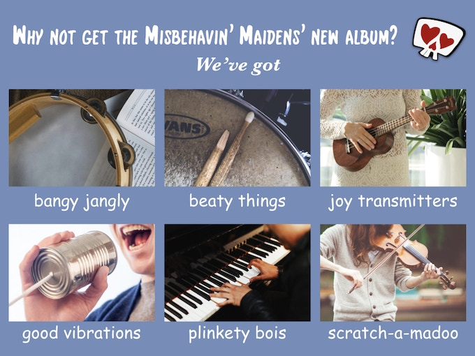 Misbehavin' Maidens' 3rd Album: Swearing is Caring by Annie