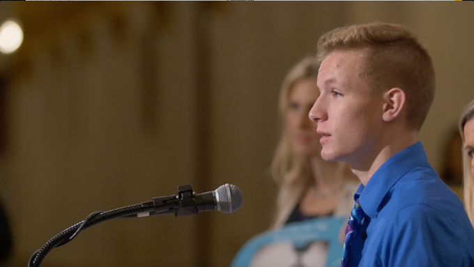 teenage advocate and fellow Survivor, Tommy Williams