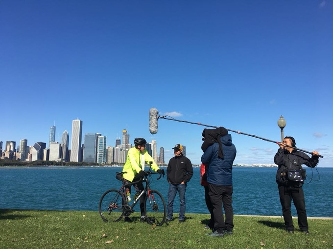 Act 1, Scene 1, initial interview before beginning our ride in Chicago