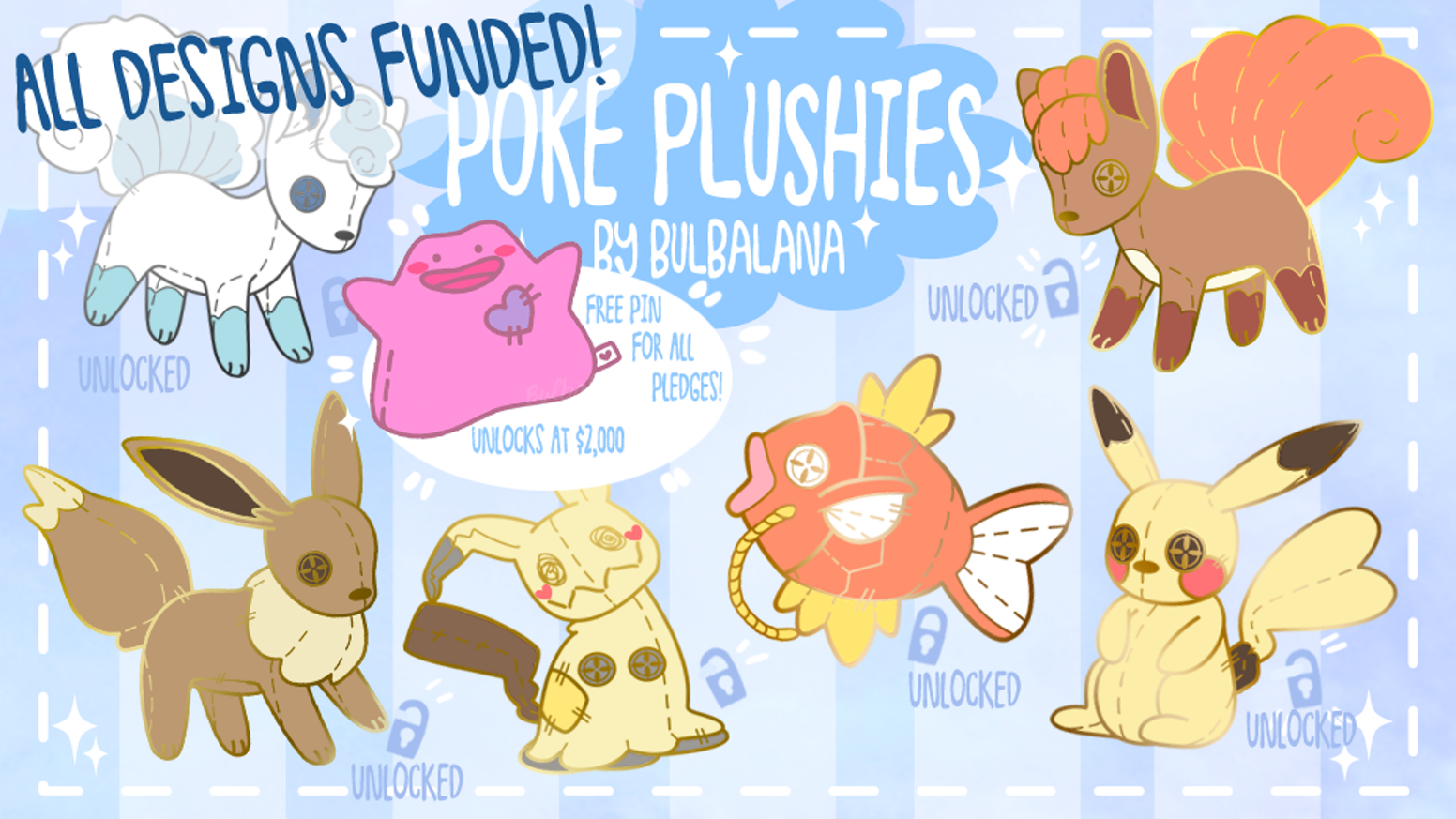 Poké Plushie Enamel Pins By Savannah Hughes Magikarp And