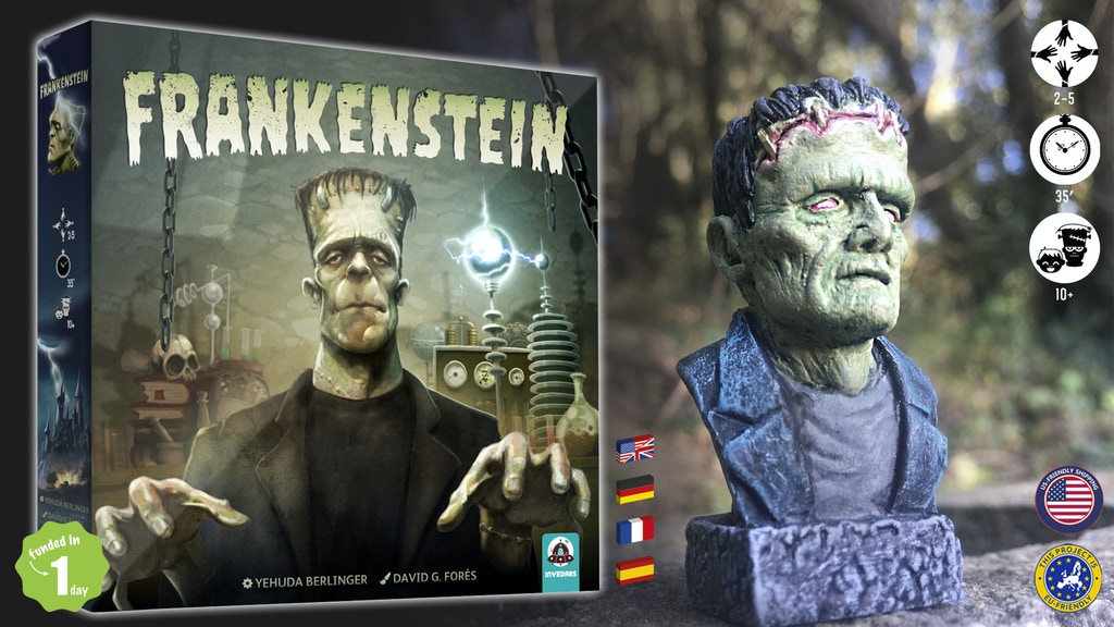 Frankenstein. A monster building game. project video thumbnail