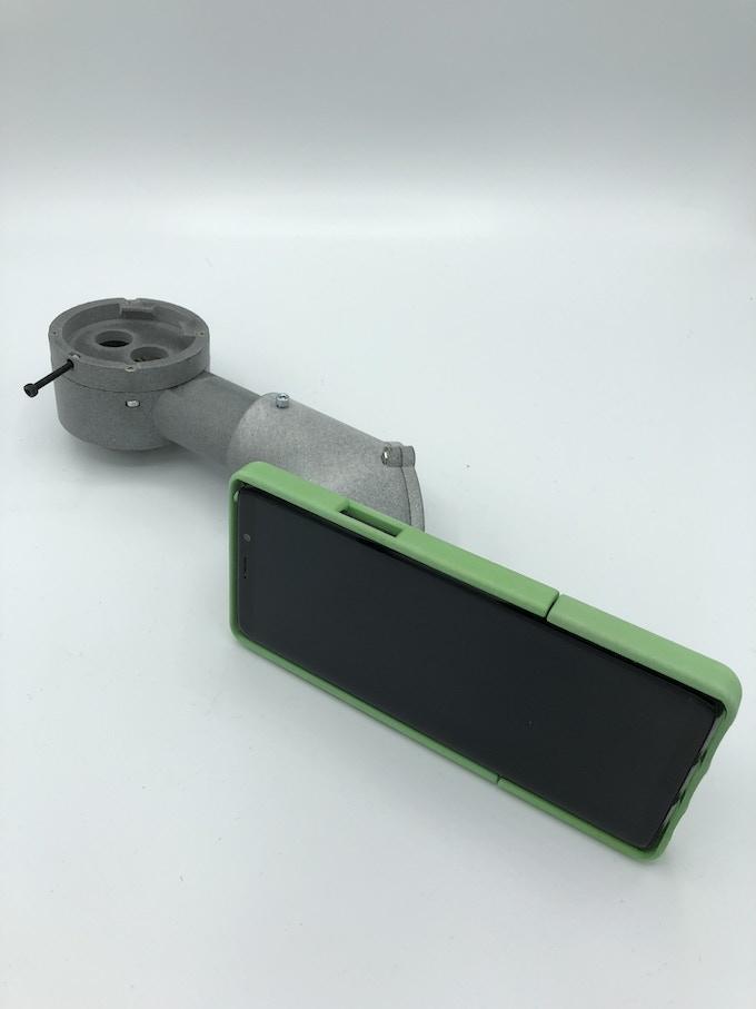MicroREC + Zeiss-style beam-splitter