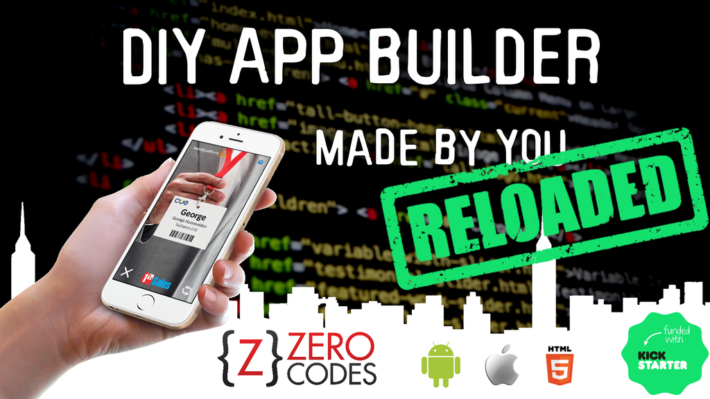 Zero Code Apps Reloaded - DIY app builder, apps made by you! project video thumbnail