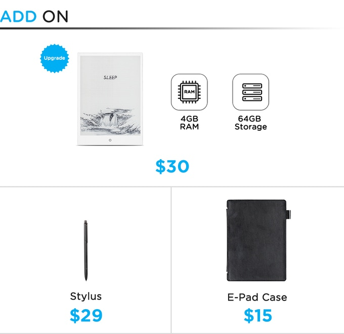 E-PAD, The E-Ink Android Tablet by Eewriter — Kickstarter