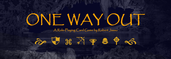 "If you like tabletop games then check out this creative role-playing card game ""One Way Out"" by Robert Jasso. Click the image to go directly or you can copy the link here: http://kck.st/2OLjrvC"