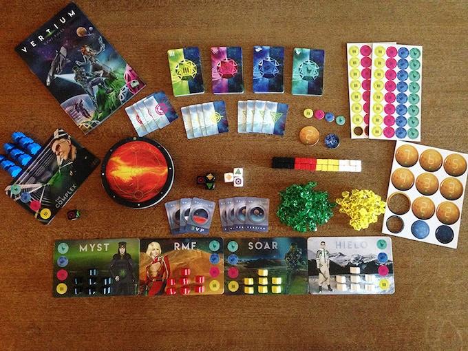 VERTIUM components (9 planets)