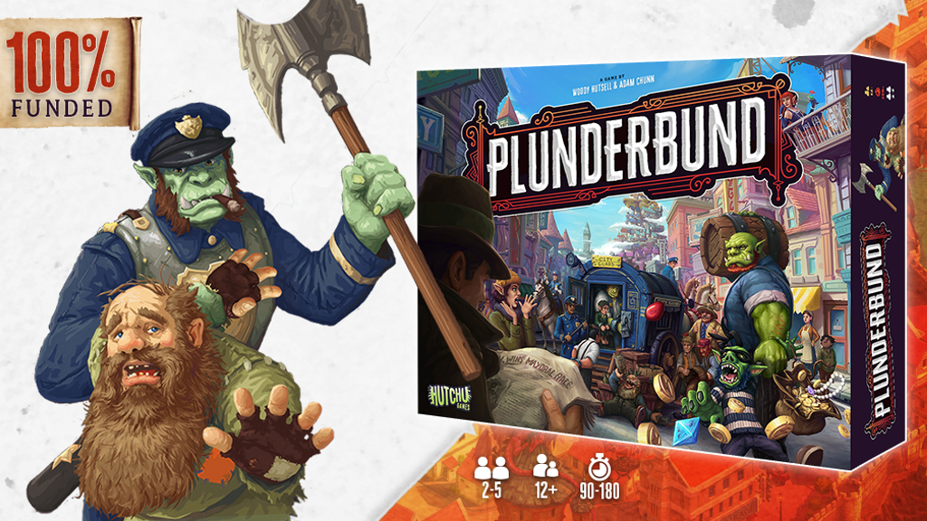 PLUNDERBUND, the Back Alley Business Board Game project video thumbnail