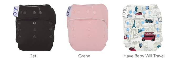 O.N.E. Diaper - Available Colors