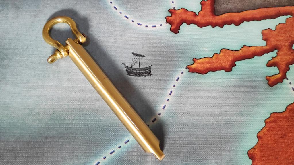 "Oceanus Brass Bow-Shackle Pen ""M"" project video thumbnail"