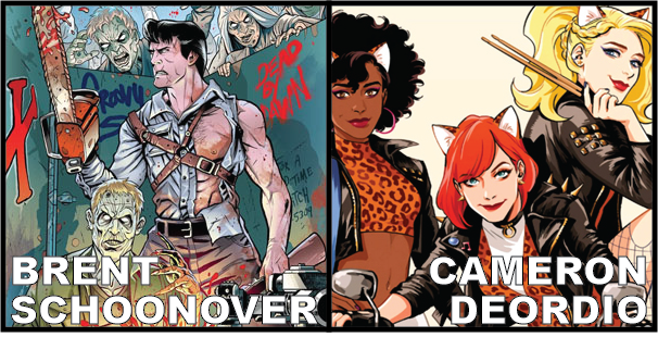 Brent Schoonover (Howling Commandos) and Cameron DeOrdio (Josie & The Pussycats)