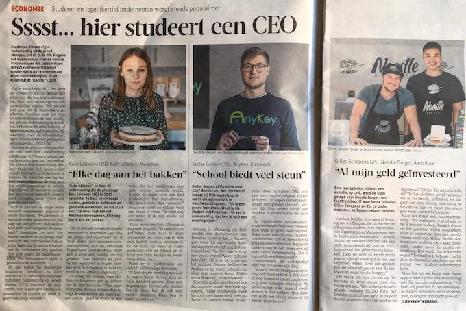 Newspaper: Gazet van Antwerpen
