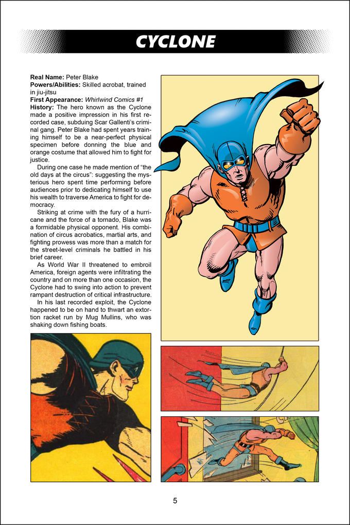 Cyclone - Heroes of the Golden Age #3