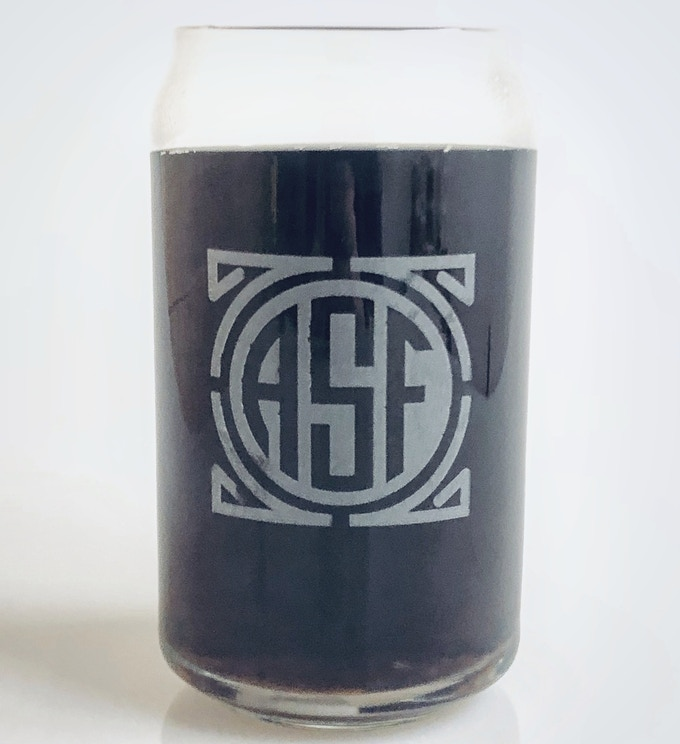 Official ASF Etched Glassware