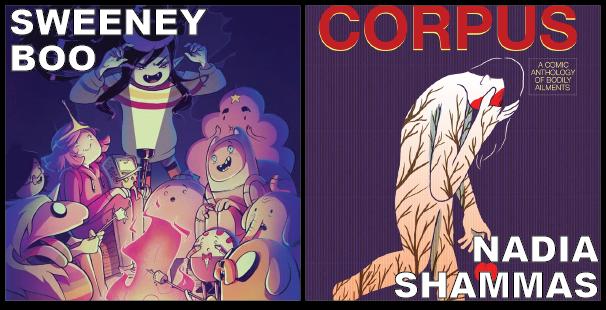 Sweeney Boo (Eat and Love Yourself) and Nadia Shammas (Care Bears)