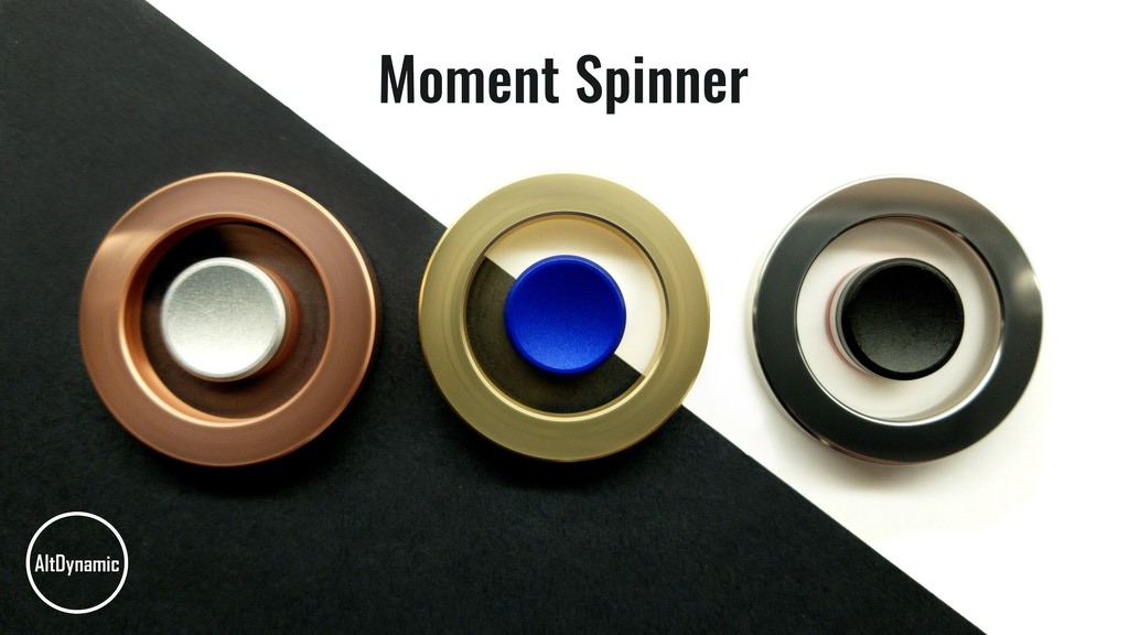 Moment Spinner: A Perfectly Balanced 1-Spoke flywheel project video thumbnail