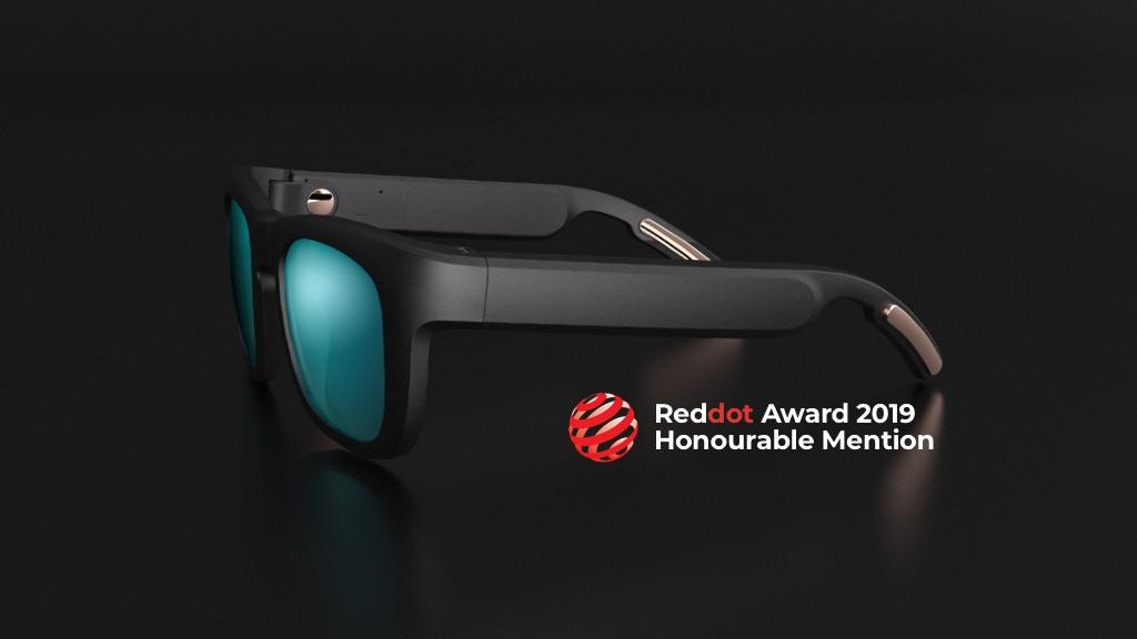 Mutrics: Stylish Smart Sunglasses with Surround Sound, $69
