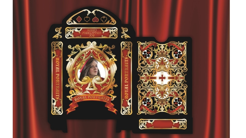 Project image for Royal Portraits Playing Cards By Ace Collectable Cards JSH