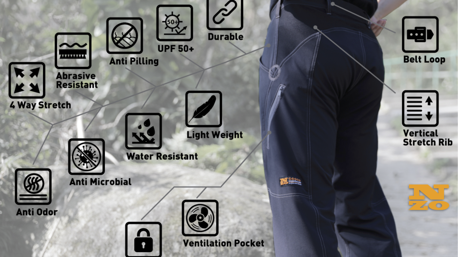 The perfect pants for street or trail, made by people with decades of experience in the mountain biking industry for everyday adventure