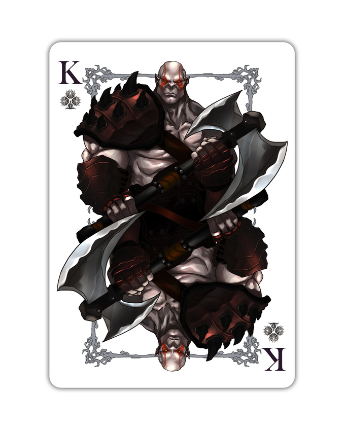 Orcs - King of Clubs