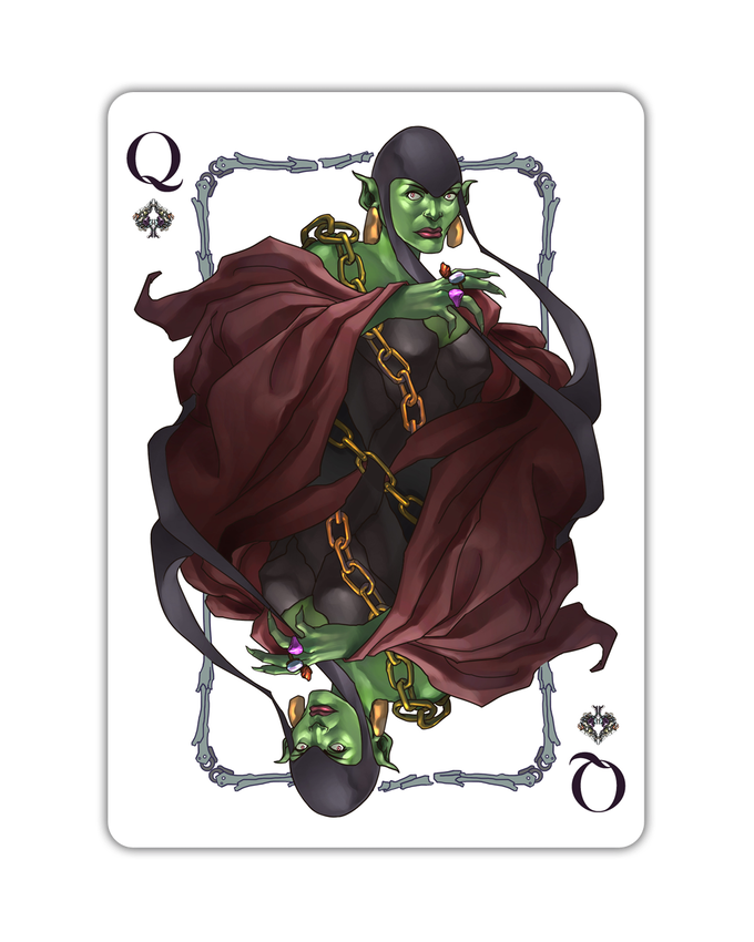 Goblins - Queen of Spades
