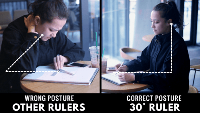 Good posture will help in later life and reduce pain from neck and back ache.