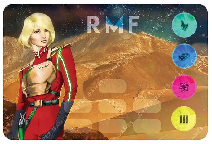 The RMF - Royal Martian Federation