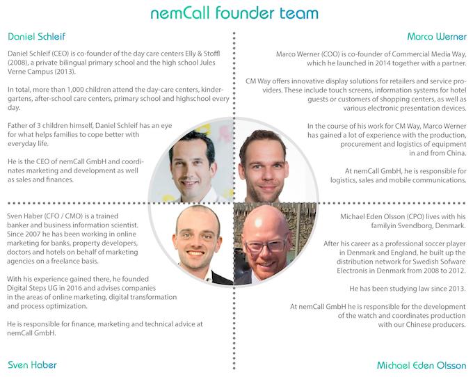 nemCall founder team