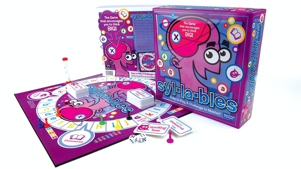 Syl-la-bles board game