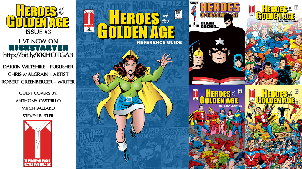 HEROES of the GOLDEN AGE #3 project video thumbnail