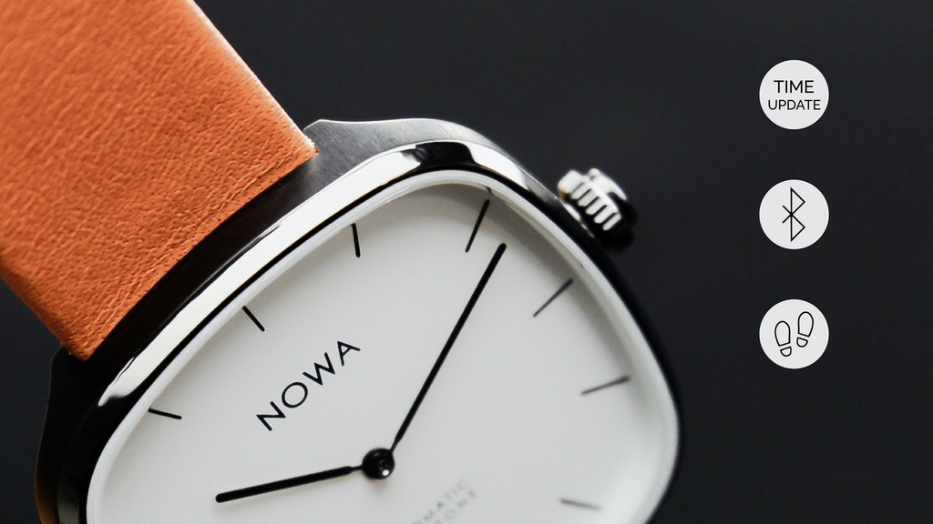 Superbe - The new Timeless Smart Watch by NOWA Paris project video thumbnail
