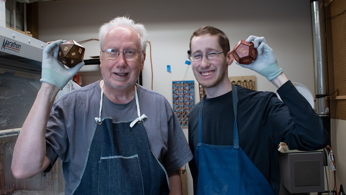 Photo of Larry Hassebrook (Left), and Tim Hassebrook (Right). We appreciate your time!