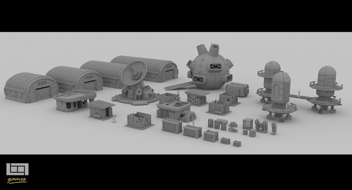 A collection of 3d printable files for you to print as add-ons for your favorite board/wargames.