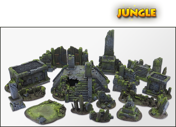 The jungle is now your new battlefield!