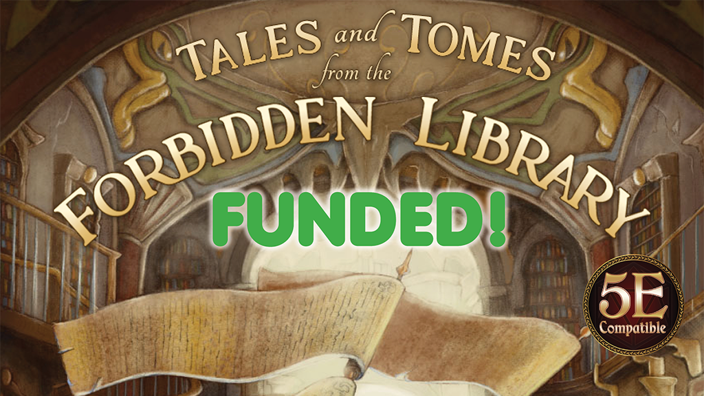 The Forbidden Library 5E project video thumbnail