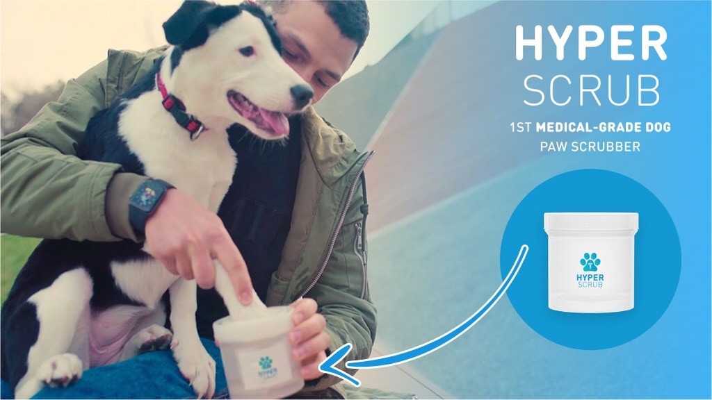 Hyperscrub: The 1st Medical-Grade Dog Paw Scrubber