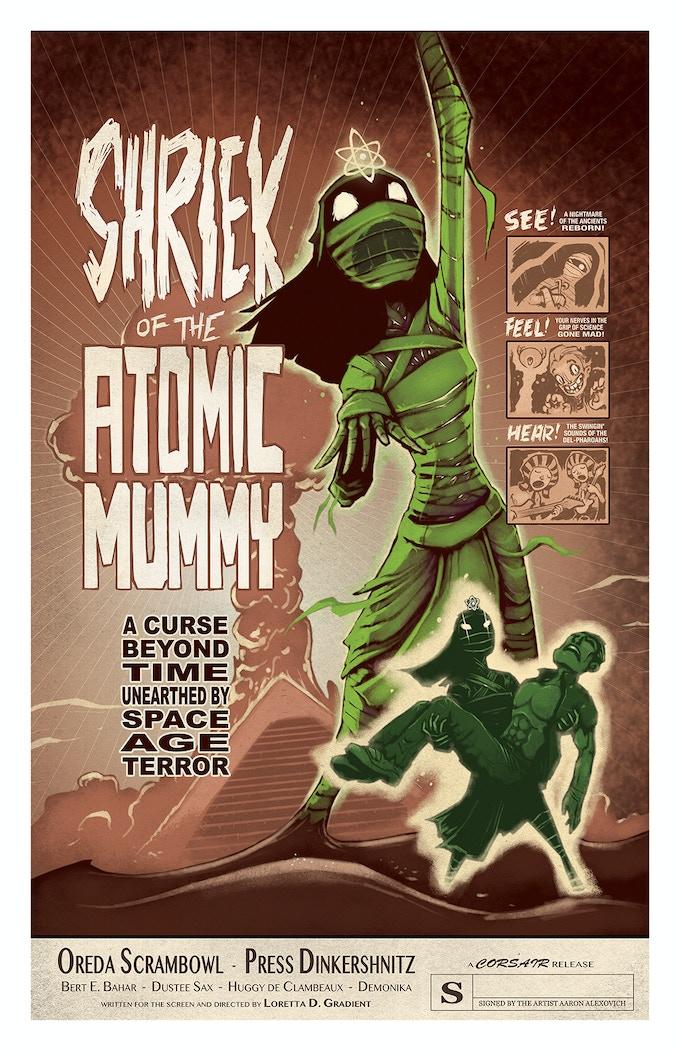 POSTER #4: SHRIEK OF THE ATOMIC MUMMY