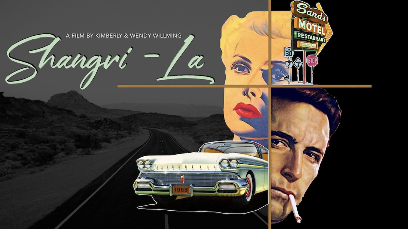 In 1958 Palm Springs, an exiled cop is pulled into a web of corruption revolving around Hollywood's biggest star.